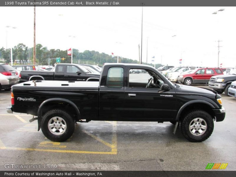1998 toyota tacoma sr5 extended cab 4x4 in black metallic. Black Bedroom Furniture Sets. Home Design Ideas