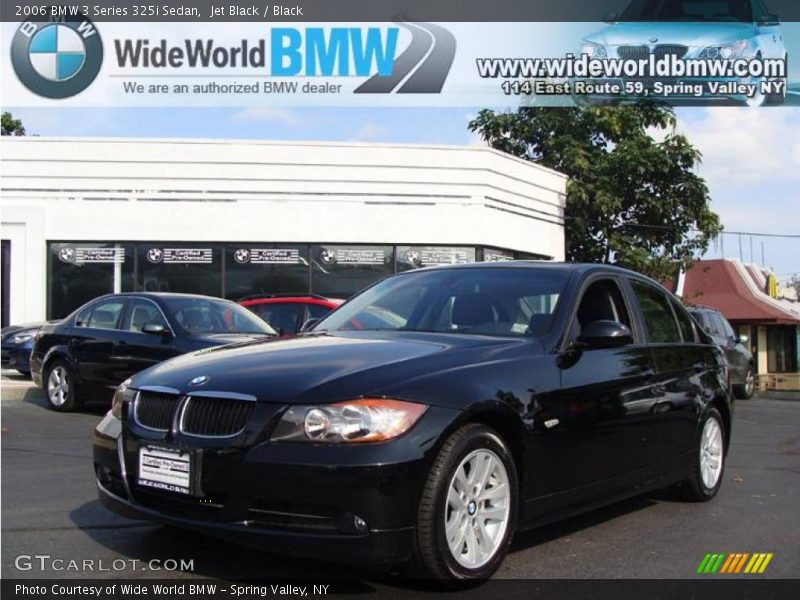 2006 bmw 3 series 325i sedan in jet black photo no. Black Bedroom Furniture Sets. Home Design Ideas