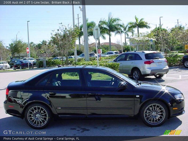 2008 Audi A4 2 0t S Line Sedan In Brilliant Black Photo No