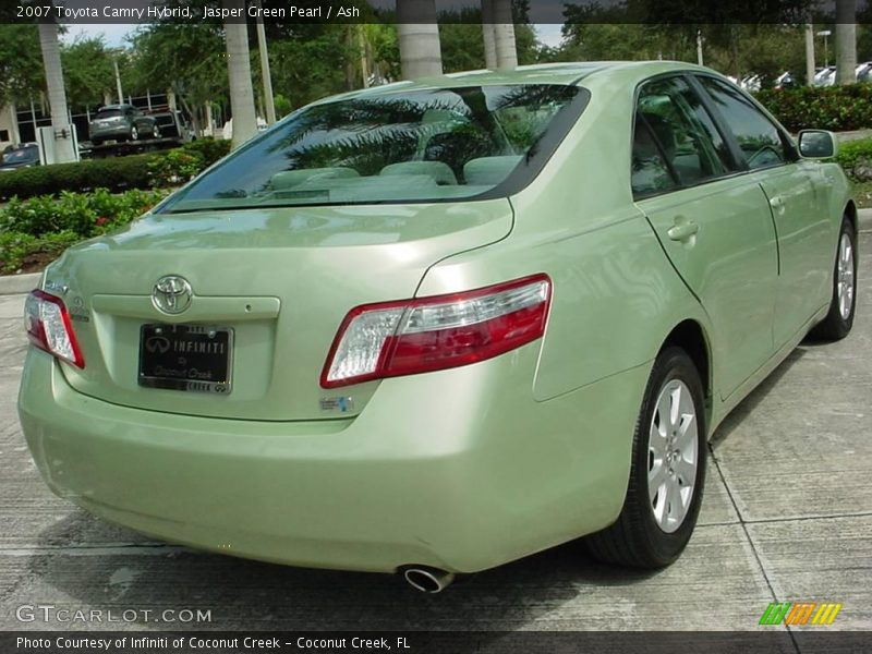 2007 toyota camry hybrid in jasper green pearl photo no 17854442. Black Bedroom Furniture Sets. Home Design Ideas