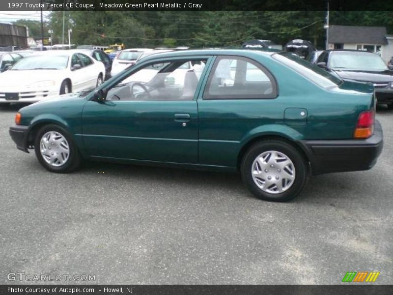 1997 toyota tercel ce coupe in meadow green pearl metallic. Black Bedroom Furniture Sets. Home Design Ideas