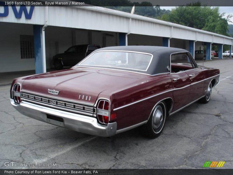1968 ford ltd sedan in royal maroon photo no 18073123 gtcarlot com