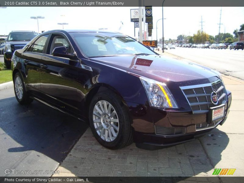 2010 cadillac cts 3 0 sedan in black cherry photo no. Black Bedroom Furniture Sets. Home Design Ideas
