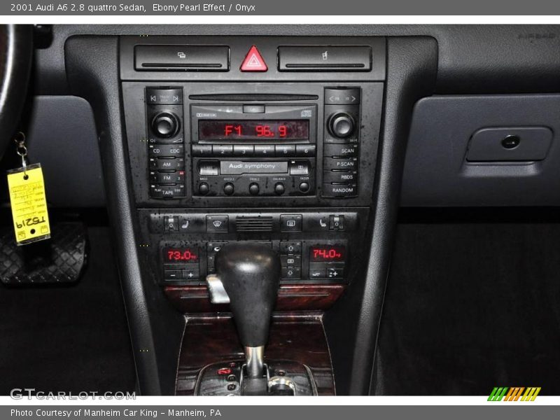 2001 audi a6 2 8 quattro sedan in ebony pearl effect photo. Black Bedroom Furniture Sets. Home Design Ideas