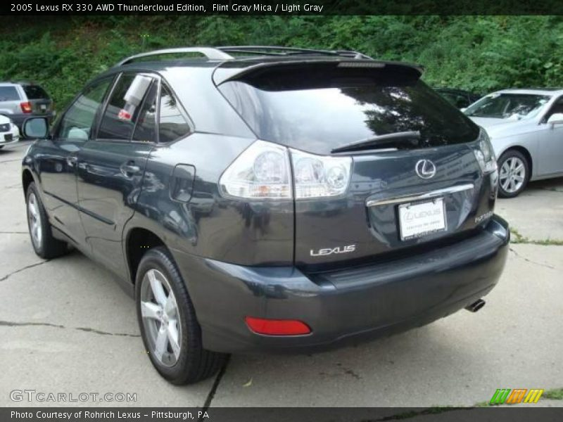 Flint Gray Mica / Light Gray 2005 Lexus RX 330 AWD Thundercloud Edition