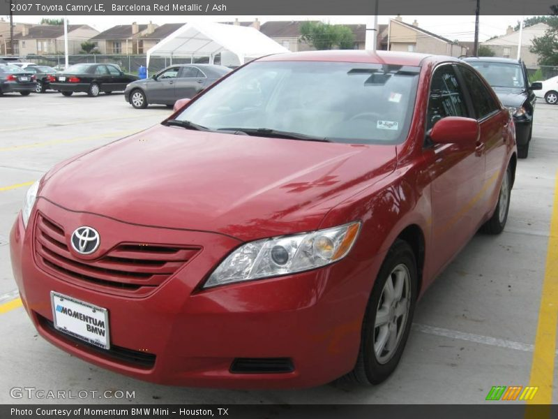 2007 Toyota Camry LE in Barcelona Red Metallic Photo No. 18557022 ...