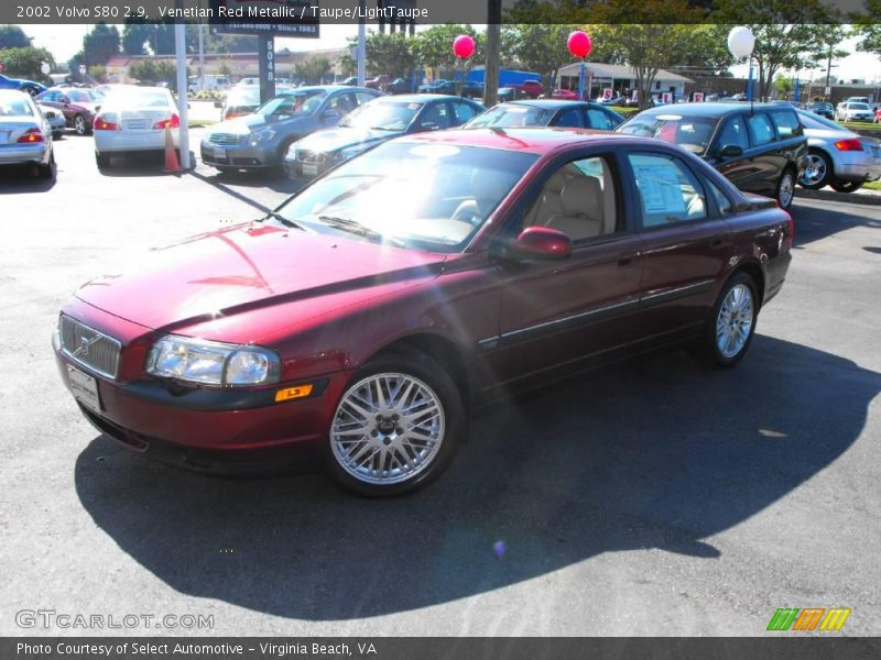 2002 volvo s80 2 9 in venetian red metallic photo no. Black Bedroom Furniture Sets. Home Design Ideas