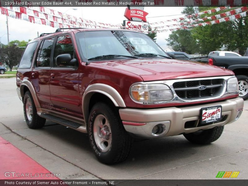 1999 ford explorer eddie bauer 4x4 in toreador red metallic photo no 18590768. Black Bedroom Furniture Sets. Home Design Ideas