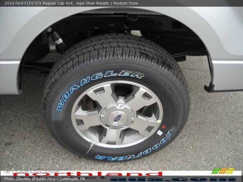 Ingot Silver Metallic / Medium Stone 2010 Ford F150 STX Regular Cab 4x4