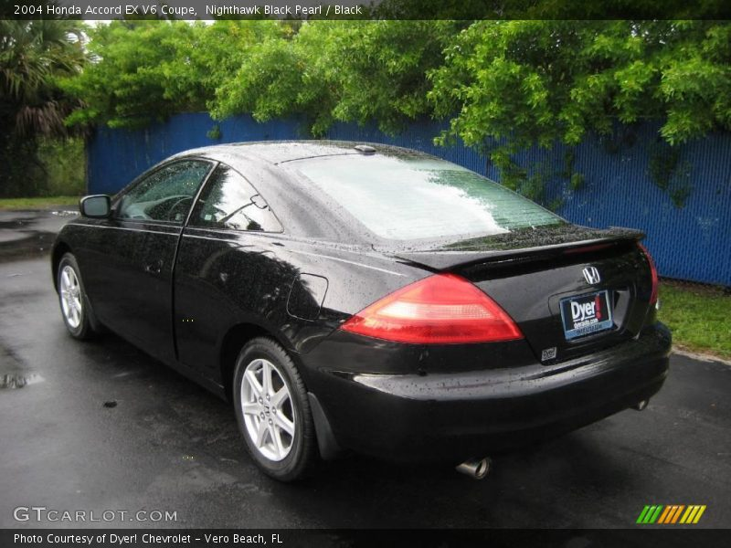 2004 honda accord ex v6 coupe in nighthawk black pearl. Black Bedroom Furniture Sets. Home Design Ideas