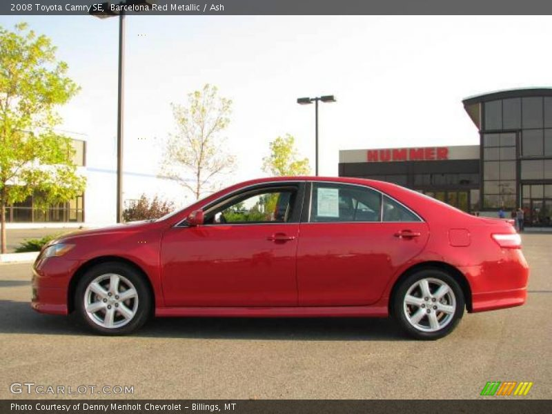 2008 toyota camry se in barcelona red metallic photo no 18727123. Black Bedroom Furniture Sets. Home Design Ideas