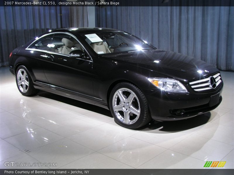 2007 mercedes benz cl 550 in designo mocha black photo no for 2007 mercedes benz cl 550
