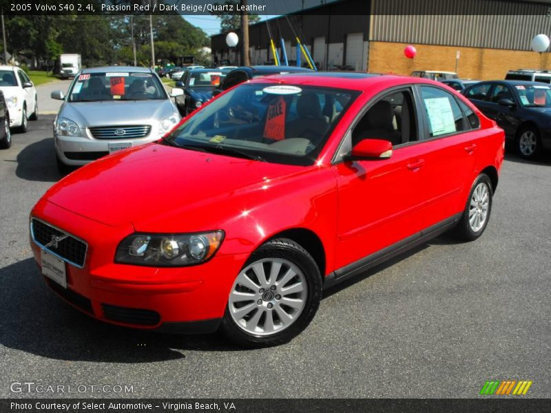 2005 volvo s40 in passion red photo no 18860851. Black Bedroom Furniture Sets. Home Design Ideas