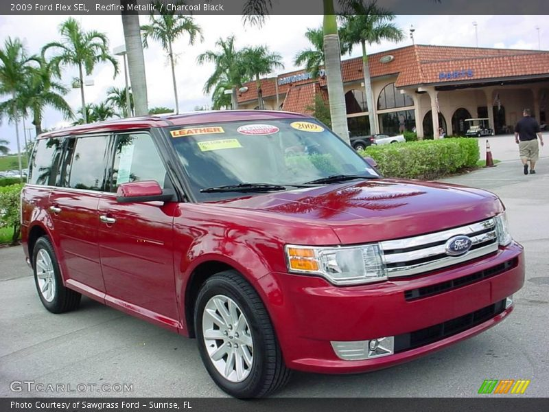 2009 ford flex sel in redfire metallic photo no 18899157. Black Bedroom Furniture Sets. Home Design Ideas