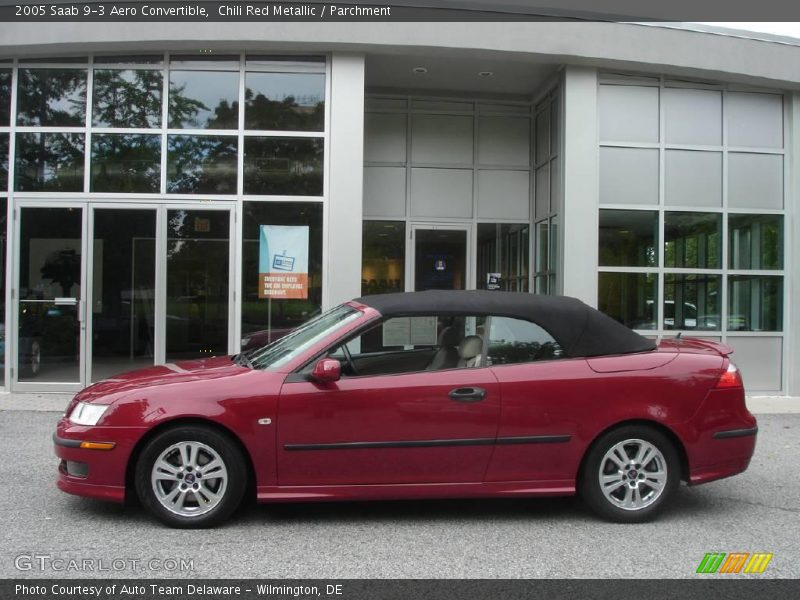 2005 saab 9 3 aero convertible in chili red metallic photo no 1891788. Black Bedroom Furniture Sets. Home Design Ideas
