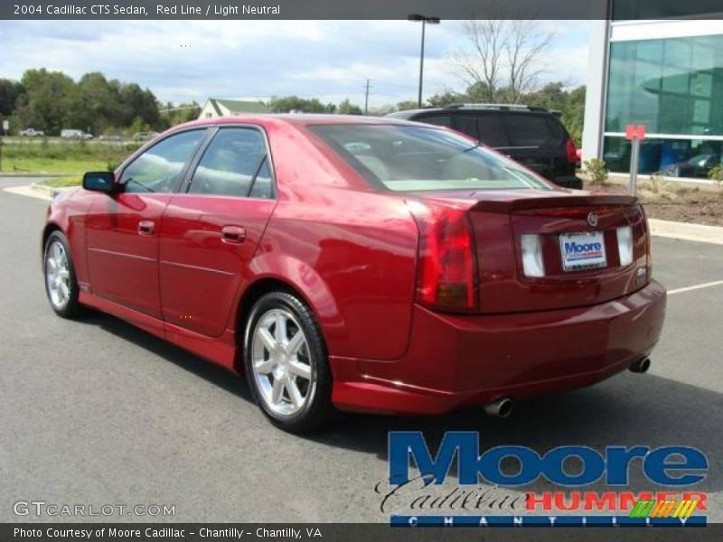 2004 Cadillac Cts Sedan In Red Line Photo No 18951081