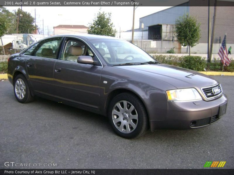 2001 audi a6 2 8 quattro sedan in cashmere gray pearl. Black Bedroom Furniture Sets. Home Design Ideas