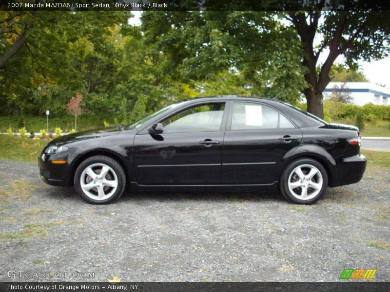 2007 mazda mazda6 i sport sedan in onyx black photo no 19049173. Black Bedroom Furniture Sets. Home Design Ideas