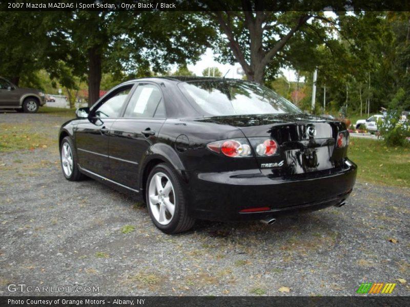 2007 mazda mazda6 i sport sedan in onyx black photo no 19049205. Black Bedroom Furniture Sets. Home Design Ideas