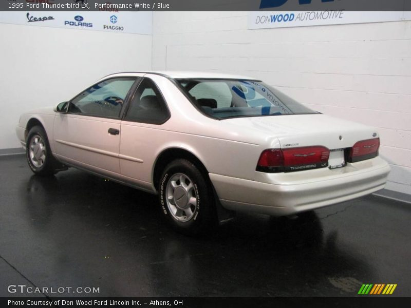 1995 ford thunderbird lx in performance white photo no. Black Bedroom Furniture Sets. Home Design Ideas