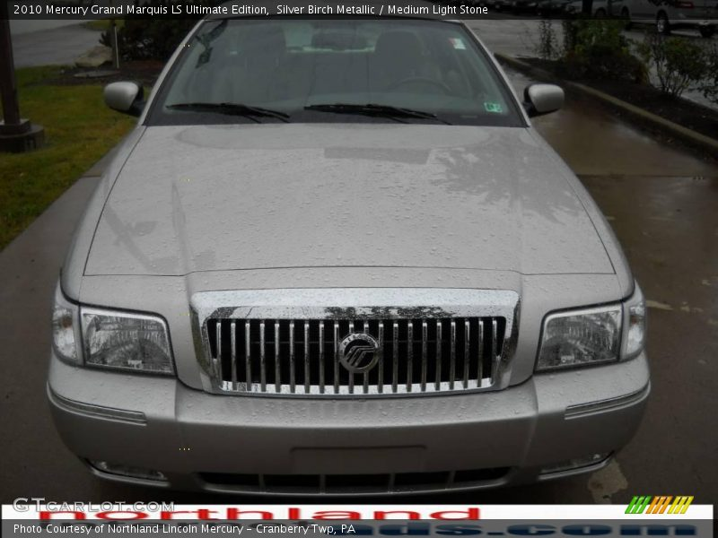 Silver Birch Metallic / Medium Light Stone 2010 Mercury Grand Marquis LS Ultimate Edition