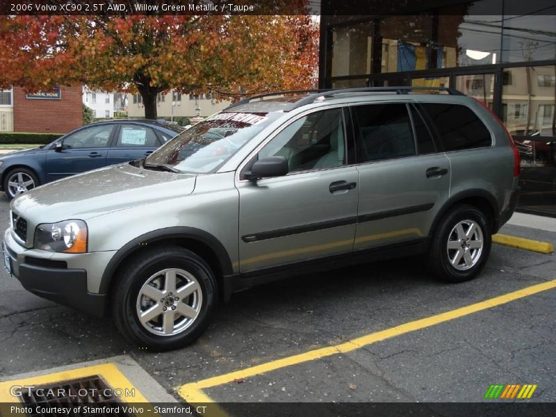 2006 Volvo Xc90 2 5t Awd In Willow Green Metallic Photo No