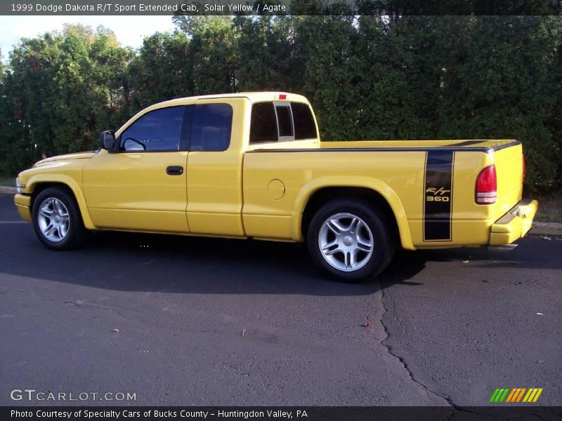 1999 dodge dakota r t sport extended cab in solar yellow. Black Bedroom Furniture Sets. Home Design Ideas
