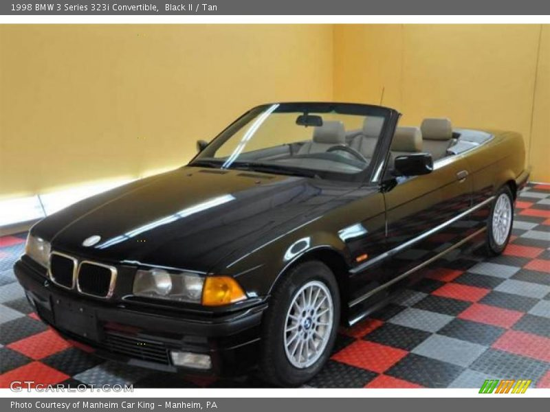 1998 Bmw 3 Series 323i Convertible In Black Ii Photo No  19290316