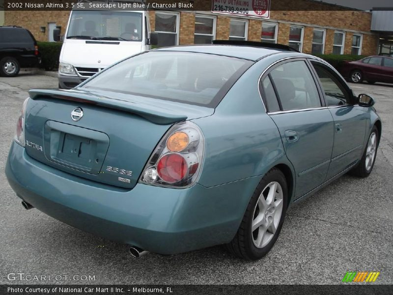 2002 nissan altima 3 5 se in seascape light blue photo no. Black Bedroom Furniture Sets. Home Design Ideas
