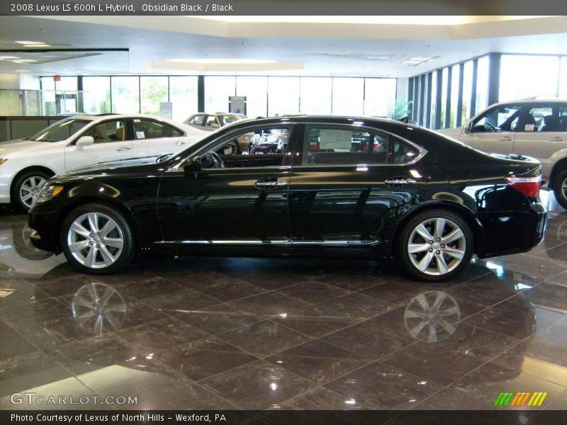 2008 lexus ls 600h l hybrid in obsidian black photo no. Black Bedroom Furniture Sets. Home Design Ideas
