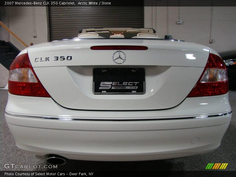 2007 mercedes benz clk 350 cabriolet in arctic white photo for G stone motors used cars