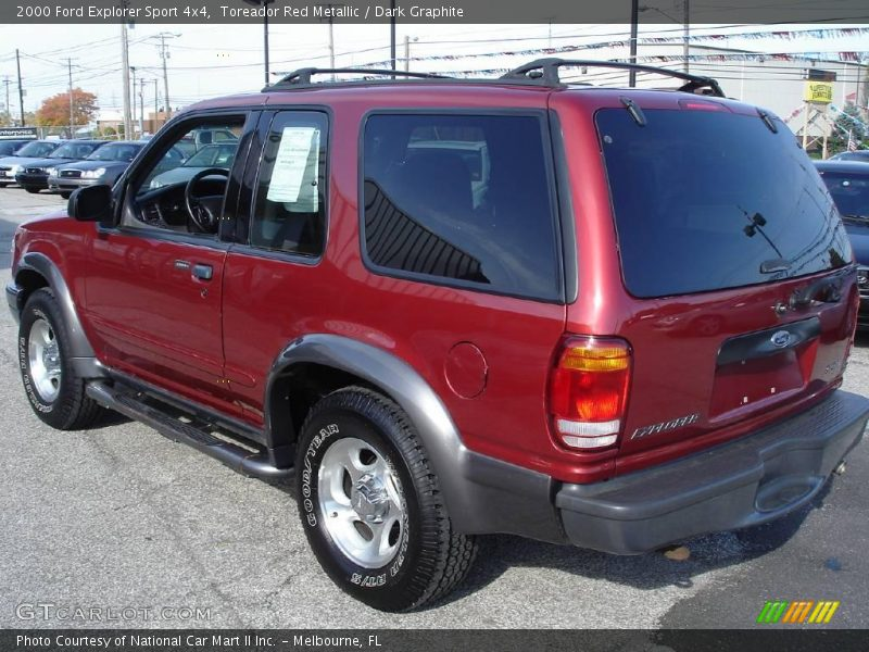 red metallic dark graphite 2000 ford explorer sport 4x4 photo 7. Cars Review. Best American Auto & Cars Review