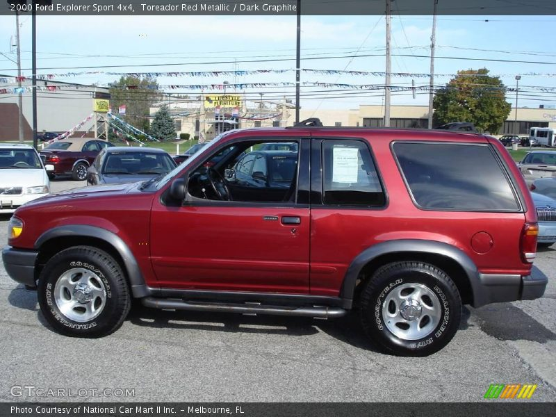 red metallic dark graphite 2000 ford explorer sport 4x4 photo 8. Cars Review. Best American Auto & Cars Review