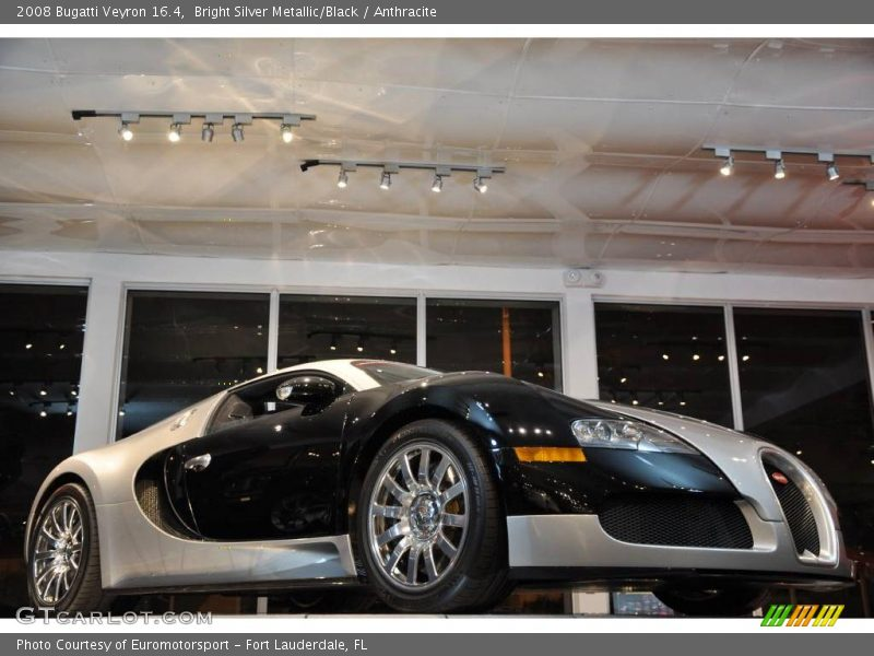 Bright Silver Metallic/Black / Anthracite 2008 Bugatti Veyron 16.4