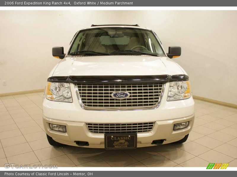 2006 ford expedition king ranch 4x4 in oxford white photo. Black Bedroom Furniture Sets. Home Design Ideas