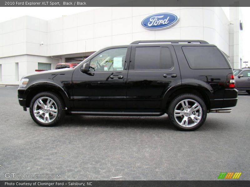 2010 Ford Explorer XLT Sport in Black Photo No. 20492976 | GTCarLot ...