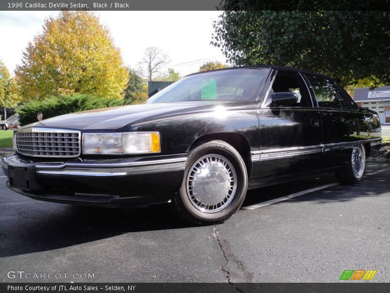 1996 cadillac deville sedan in black photo no 20493042. Black Bedroom Furniture Sets. Home Design Ideas