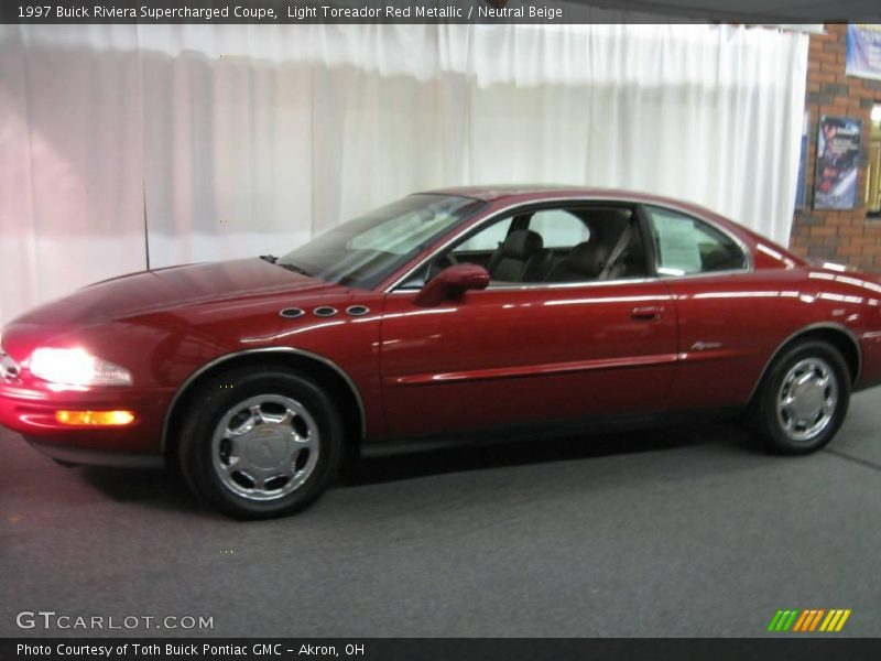 1997 Buick Riviera Supercharged Coupe In Light Toreador