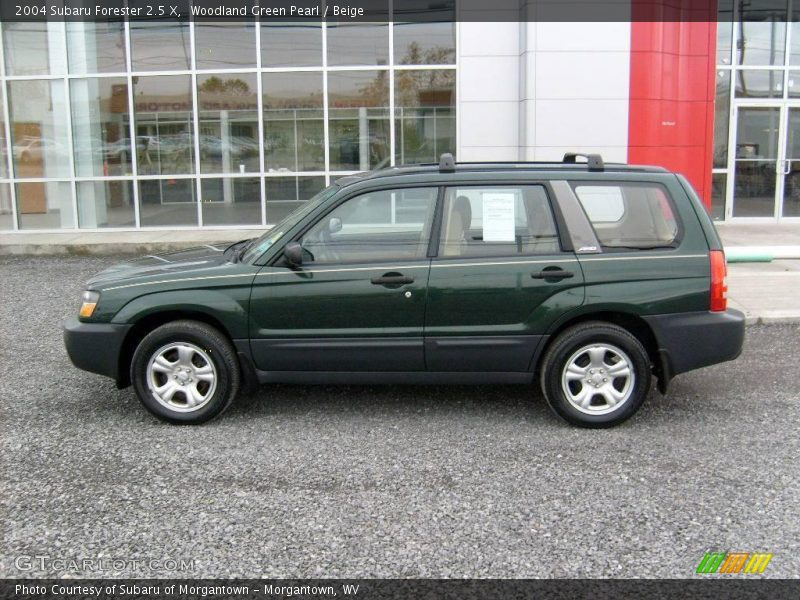 2004 subaru forester 2 5 x in woodland green pearl photo no 20632018. Black Bedroom Furniture Sets. Home Design Ideas