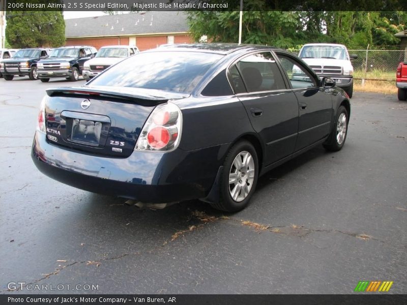 2006 nissan altima 2 5 s special edition in majestic blue. Black Bedroom Furniture Sets. Home Design Ideas