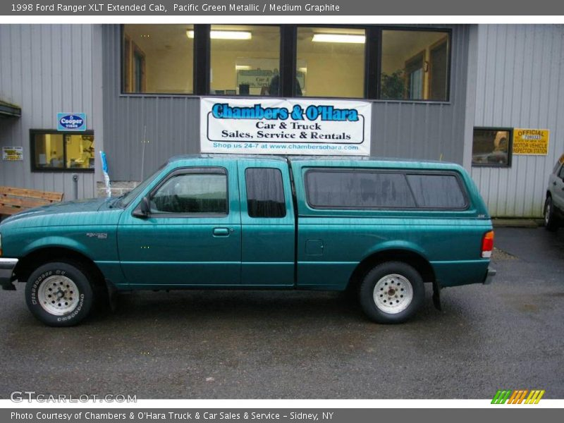 1998 ford ranger xlt extended cab in pacific green metallic photo no 20687627. Black Bedroom Furniture Sets. Home Design Ideas