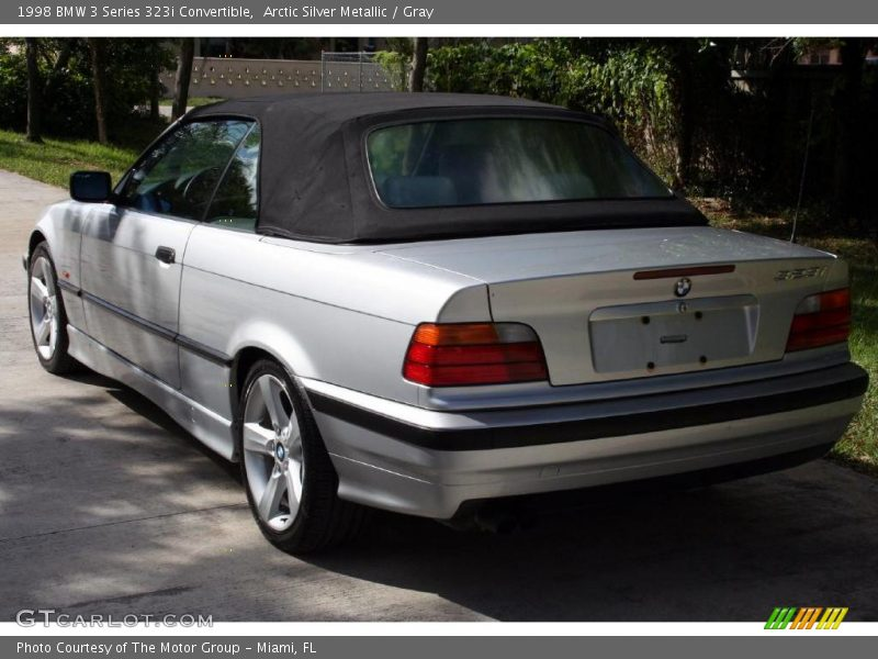 1998 Bmw 3 Series 323i Convertible In Arctic Silver