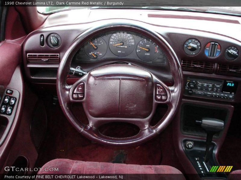 ... Carmine Red Metallic / Burgundy 1998 Chevrolet Lumina LTZ Photo #12