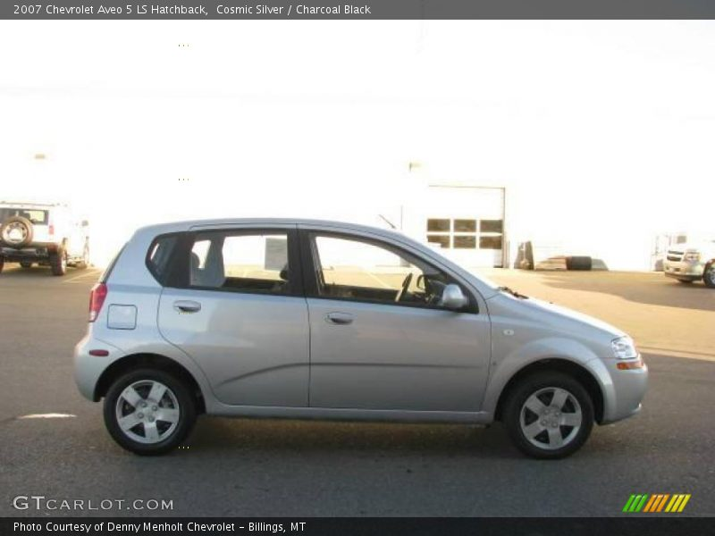 2007 chevrolet aveo 5 ls hatchback in cosmic silver photo. Black Bedroom Furniture Sets. Home Design Ideas