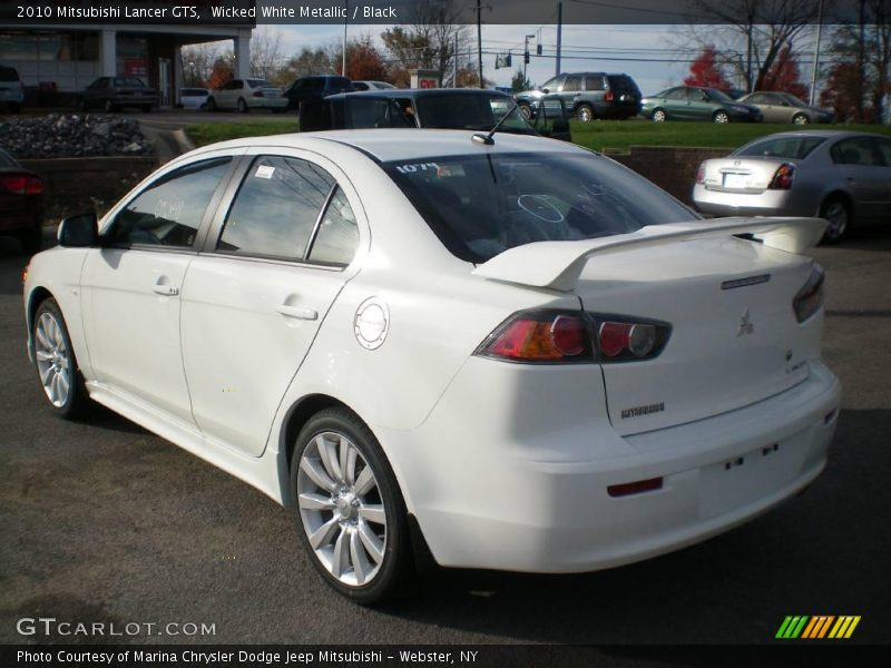 2010 mitsubishi lancer gts in wicked white metallic photo. Black Bedroom Furniture Sets. Home Design Ideas