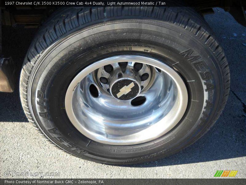 ... Autumnwood Metallic 1997 Chevrolet C/K 3500 K3500 Crew Cab 4x4 Dually