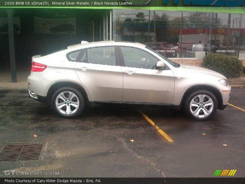 2009 bmw x6 xdrive35i in mineral silver metallic photo no. Black Bedroom Furniture Sets. Home Design Ideas