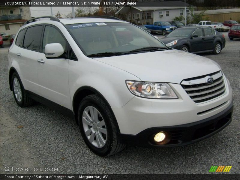 Subaru Vin Decoder >> 2008 Subaru Tribeca Limited 7 Passenger in Satin White Pearl Photo No. 21165981 | GTCarLot.com