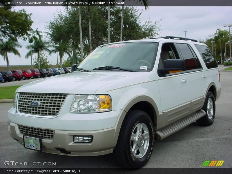 2006 ford expedition eddie bauer in oxford white photo no 2119749. Black Bedroom Furniture Sets. Home Design Ideas