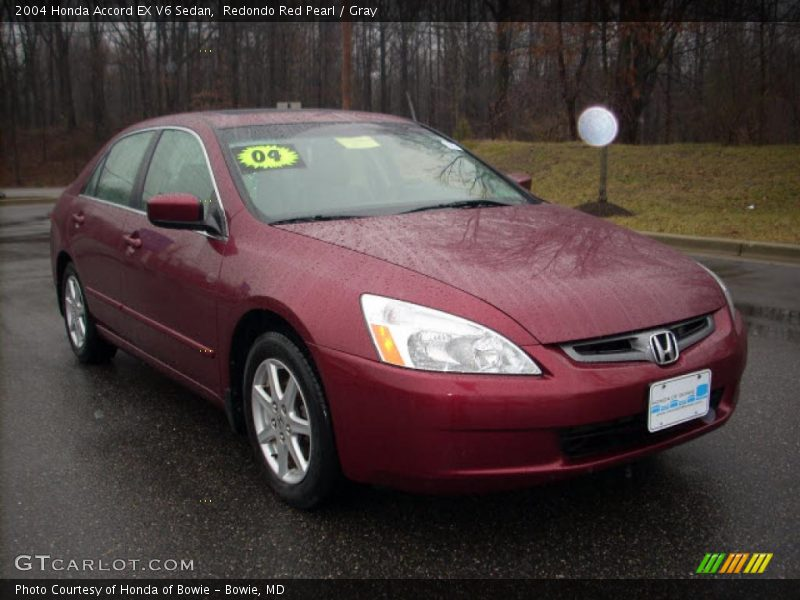 2004 honda accord ex v6 sedan in redondo red pearl photo. Black Bedroom Furniture Sets. Home Design Ideas